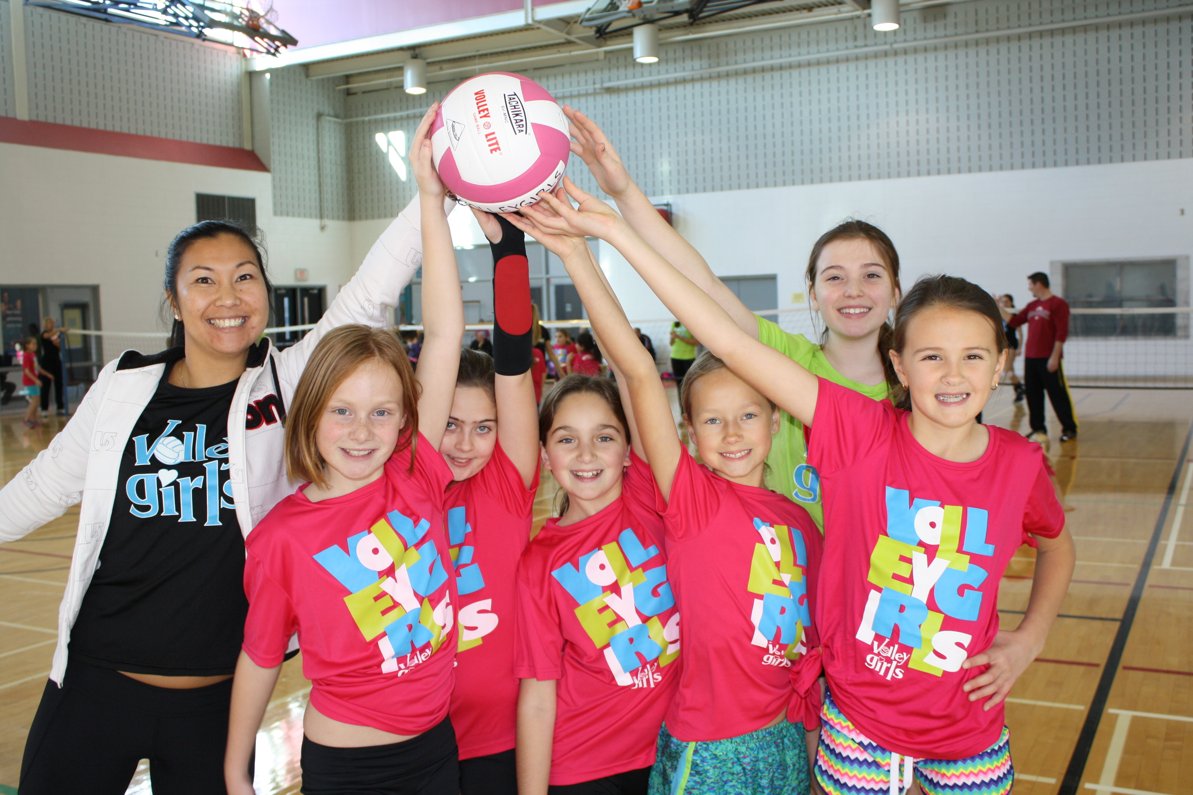 Since 2006, VolleyGirls Volleyball has made a name in the Burlington, Ontario and surrounding areas as a well-ordered, entertaining place to find friends and play volleyball. Many of our girls have climbed through our curricula and taken their volleyball skills and developments to their local schools and rep club teams. VolleyGirls provides age suitable volleyball skill training and advanced volleyball skill progress that keeps our girls returning and loving the game.