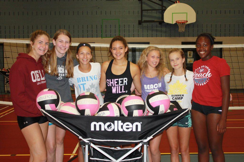 VolleyGirls Volleyball volunteers are typically returning VolleyGirls athletes!