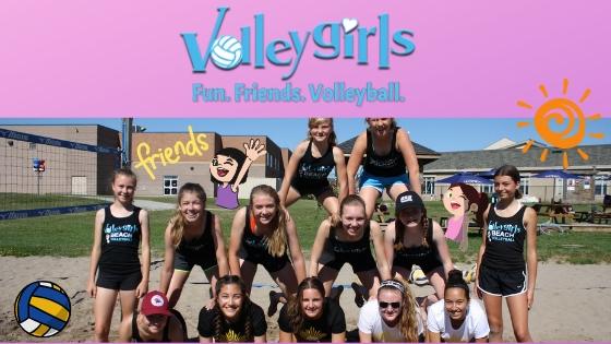 Volleygirls. Fun. Friends. Volleyball. Girls Volelyball Camps Burlington, Ontario