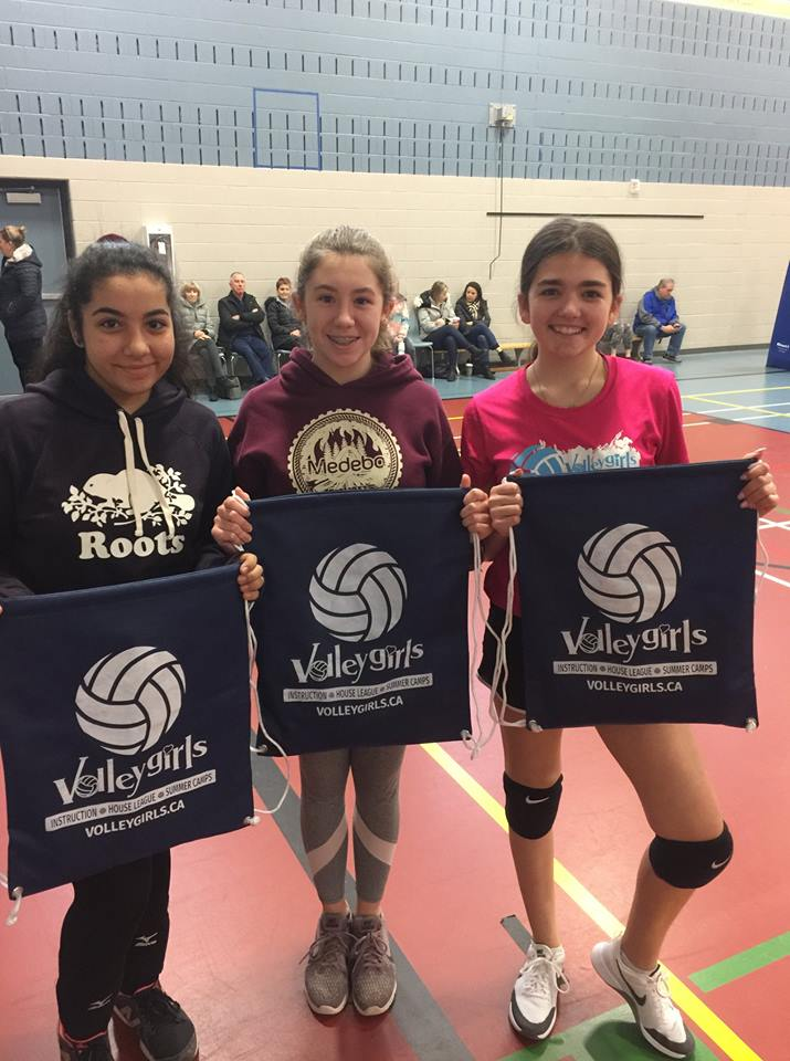 VolleyGirls Volleyball Learning the values of leadership in Burlington, Ontario